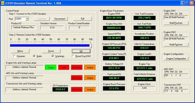 Installation Guide for Au J1939 Simulator Remote Terminal